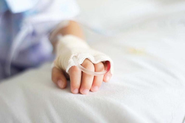 xuất huyết dạ dày trẻ em