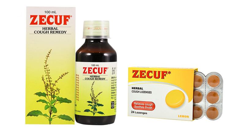 Thảo dược trị ho Zecuf