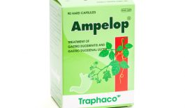 Thuốc Ampelop có tác dụng điều trị các triệu chứng bệnh viêm loét dạ dày - hành tá tràng.