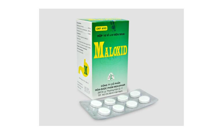 Maloxid là thuốc điều trị các các bệnh lý về đường tiêu hóa như: như viêm loét dạ dày - tá tràng, ợ chua,...