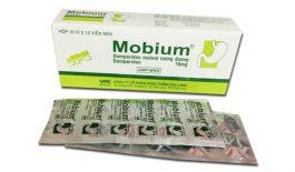 Thuốc Mobium có tác dụng điều trị các bệnh về đường tiêu hóa như buồn nôn, nôn nặng, khó tiêu,...