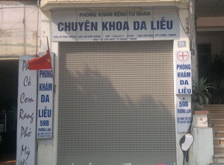 phòng khám da liễu bác sĩ Đào Thị Kim Thành