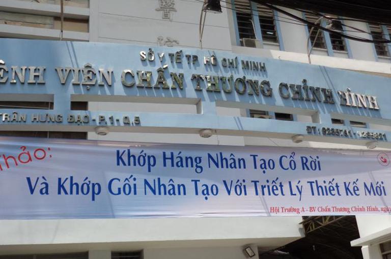 Thăm khám và điều trị bệnh gout tại Bệnh viện Chấn thương chỉnh hình thành phố Hồ Chí Minh