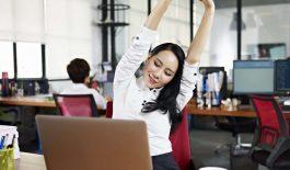 Các bài tập giảm đau lưng cho dân văn phòng