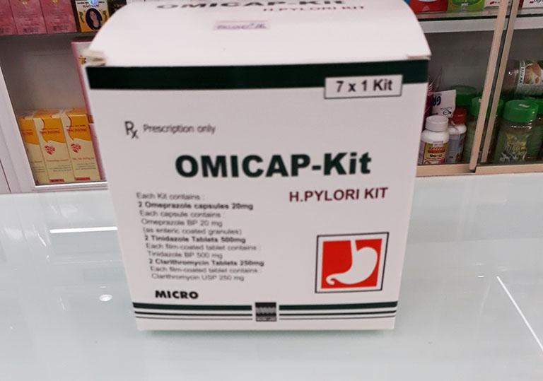 thuốc dạ dày omicap kit