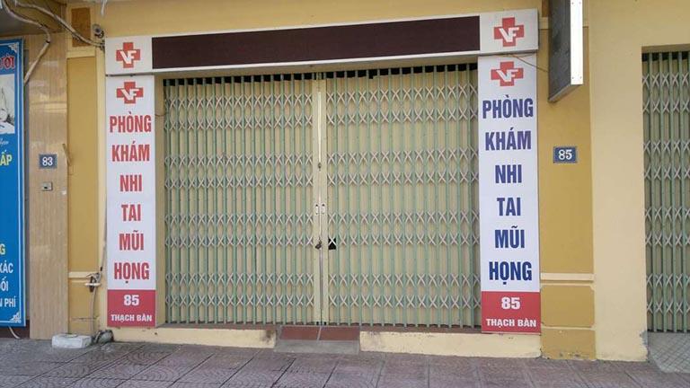 Phòng khám Tai Mũi Họng - Nhi - Bác sĩ Phạm Huy Tần
