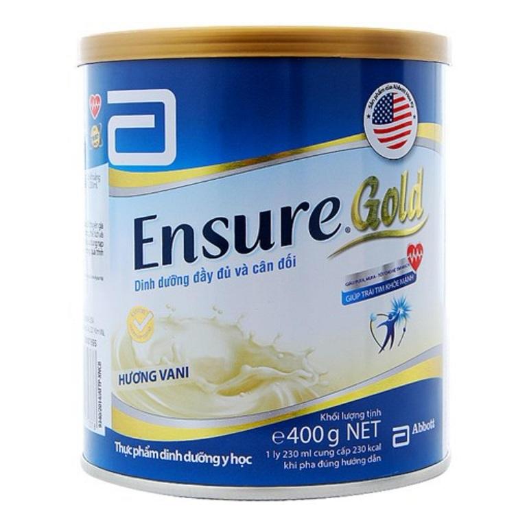 Sữa Ensure Gold được nhập khẩu từ Hoa Kỳ