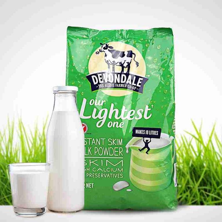 Sữa tách béo devondate Skim milk