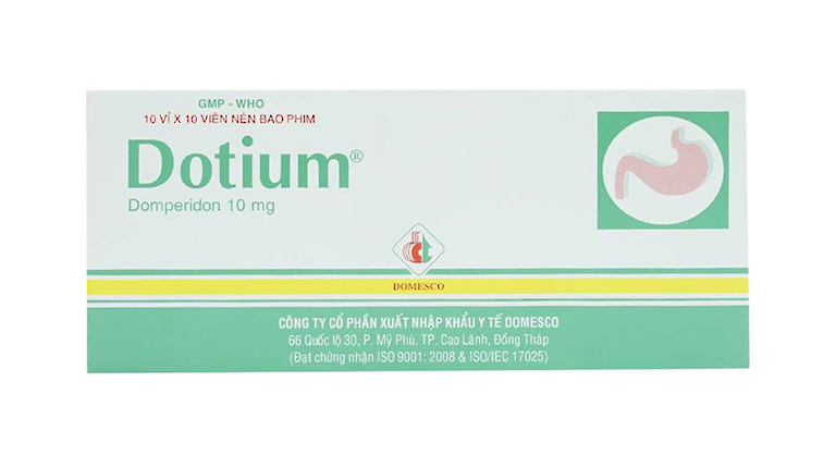 Thuốc Dotium điều trị các các triệu chứng nôn và buồn nôn