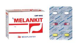 Thuốc Melankit điều trị viêm loét dạ dày tá tràng, viêm dạ dày mạn tính có vi khuẩn Hp