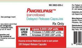 Thuốc Pancrelipase được chỉ định cho các trường hợp bị thiếu hụt các enzyme tiêu hóa do tuyến tụy tiết ra