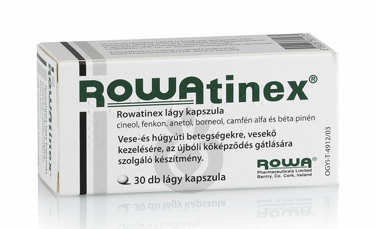Thuốc Rowatinex điều trị các bệnh đường tiết niệu