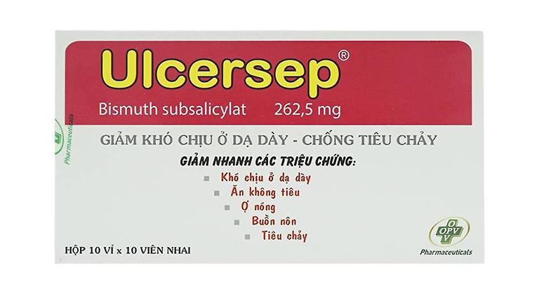 Thuốc Ulcersep điều trị các bệnh lý của đường tiêu hóa