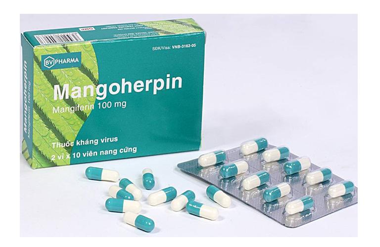 thông tin thuốc Mangoherpin