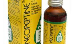 thông tin thuốc tiêu hóa Neopeptine
