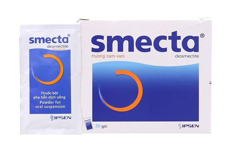 thuốc tiêu chảy Smecta