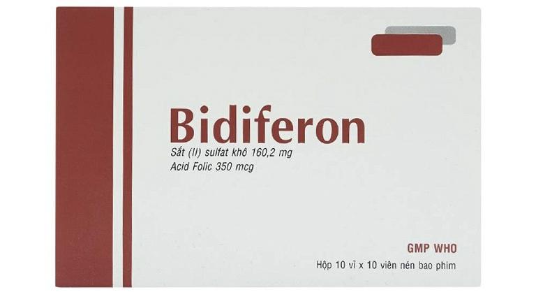 Bidiferon được sản xuất tại công ty Bidiphar