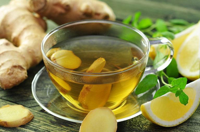 Nếu bị táo bón, bạn nên sử dụng trà gừng