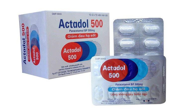 thuốc actadol 500