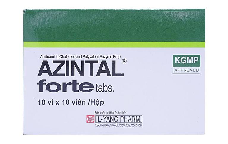 Azintal forte là thuốc gì?