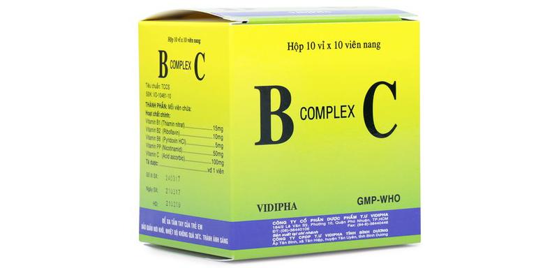 viên nang b complex c