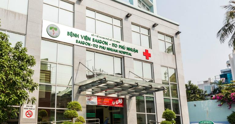 Bệnh viện Sài Gòn - ITO Phú Nhuận là một bệnh viện tư nhân đạt tiêu chuẩn quốc tế.