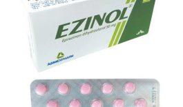 thông tin về thuốc trị ho Ezinol