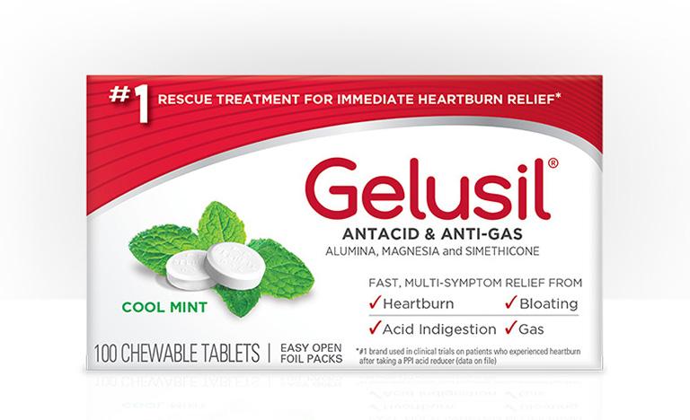 thông tin cần biết về thuốc Gelusil