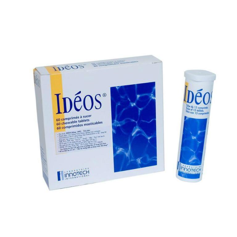Thuốc Ideos là thuốc được dùng để điều trị các bệnh về xương khớp.