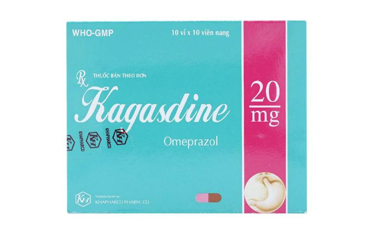 Thuốc Kagasdine là thuốc dùng để điều trị viêm loét dạ dày, tá tràng và thực quản.