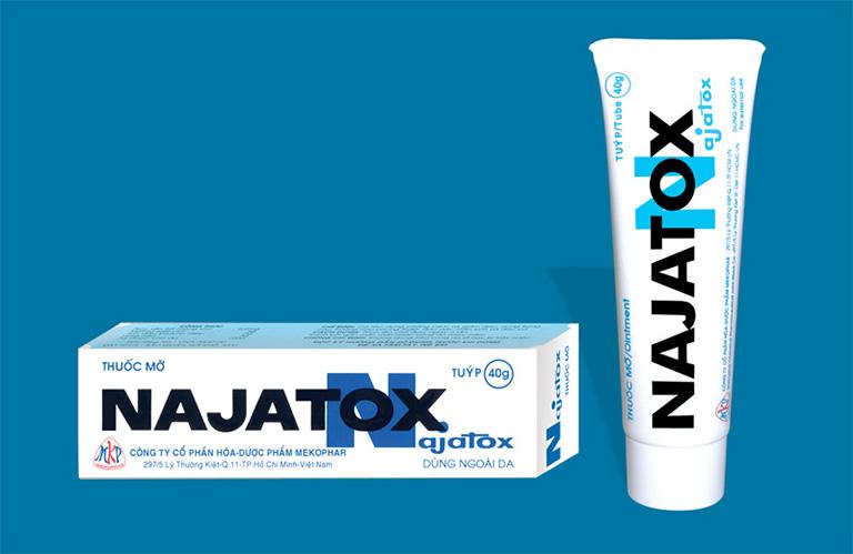 công dụng của thuốc bôi Najatox