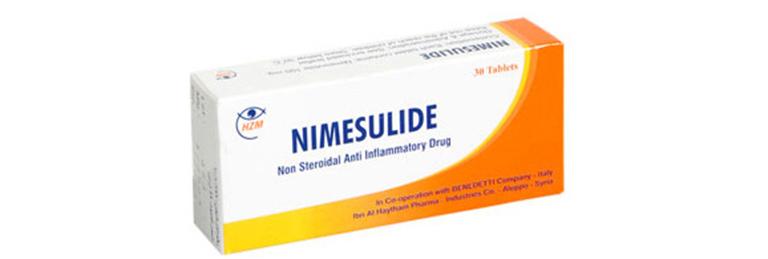 Thuốc Nimesulide có tác dụng giảm đau, hạ sốt, kháng viêm và điều trị các bệnh về xương
