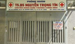 Phòng khám của bác sĩ Nguyễn Trọng Tín là phòng khám bệnh tư nhân chuyên về xương khớp và cột sống.