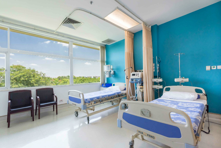 Phòng khám Đa khoa Quốc tế City trang bị đầy đủ các máy móc hiện đại, thiết bị y khoa chất lượng.