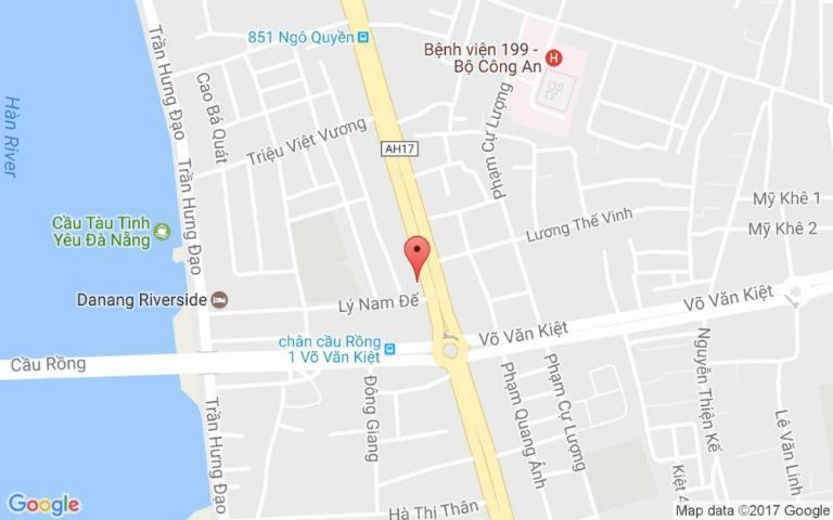 Bản đồ hướng dẫn đường đến Phòng răng Minh Hường.