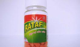 Thuốc Rataf là thuốc điều trị các triệu chứng của bệnh cảm cúm, viêm xoang,...