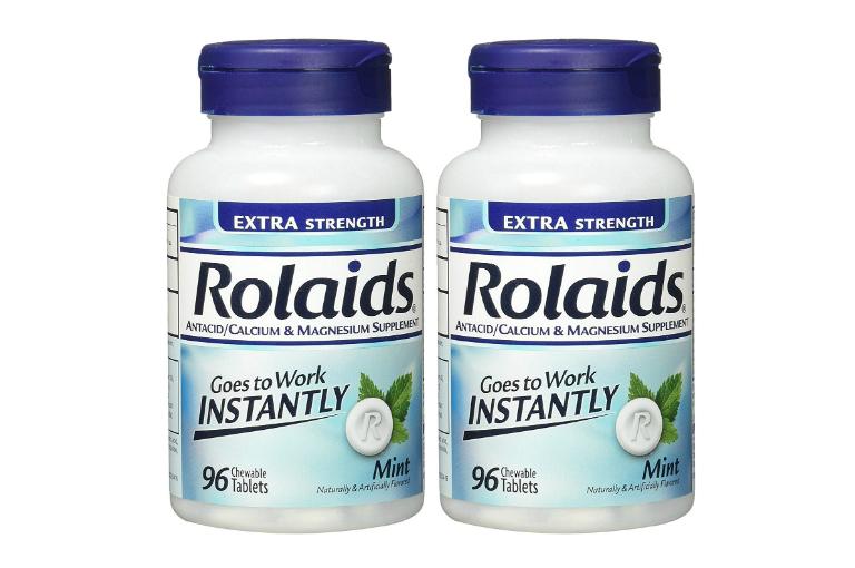 Thuốc Rolaids được chỉ định để điều trị những triệu chứng như ợ chua, ợ nóng, khó tiêu.