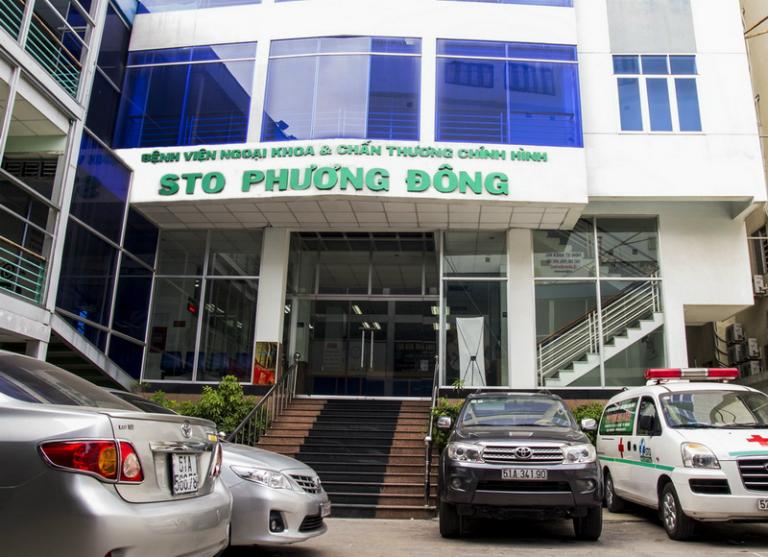 Bệnh viện STO Phương Đông tọa lạc tại quận 10, TP.HCM.