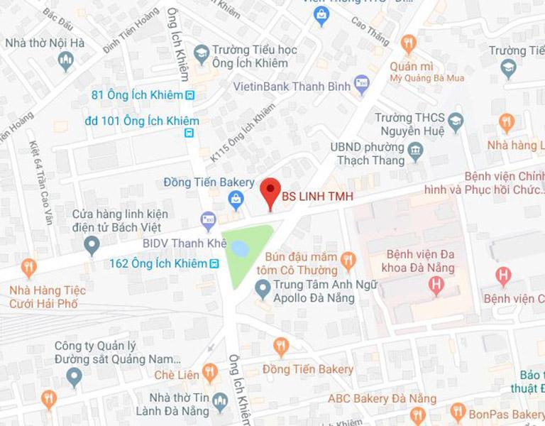 thông tin về phòng khám Tai mũi họng của bác sĩ Linh