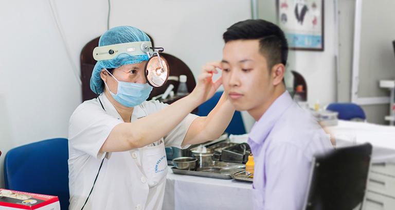 phòng khám Tai mũi họng của bác sĩ Phương Linh