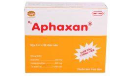 Thuốc Aphaxan được sử dụng để điều trị các cơn đau như đau do bong gân, chấn thương, thấp khớp,...
