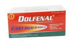 Thuốc Dolfenal có tác dụng giảm đau, hạ sốt.