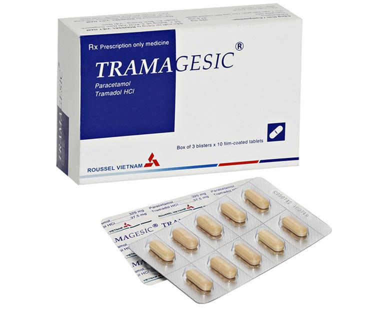 thành phần và công dụng của thuốc Tramagesic