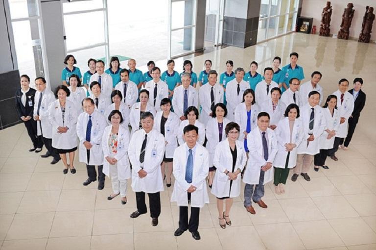 Đội ngũ bác sĩ tại CIH