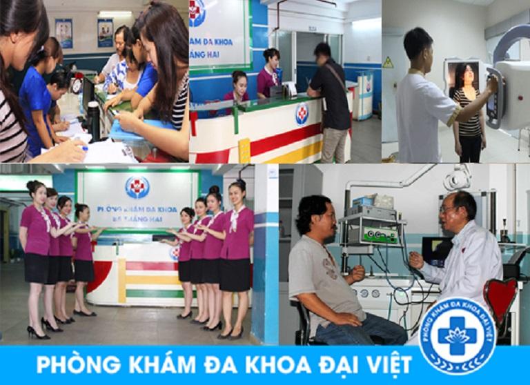 Phong cách phục vụ chuyên nghiệp tại phòng khám đa khoa Đại Việt