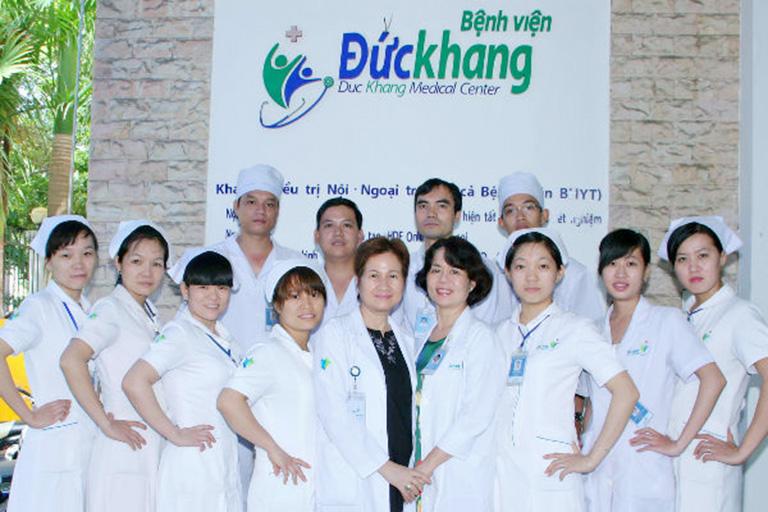 Bác sĩ bệnh viện Đức Khang