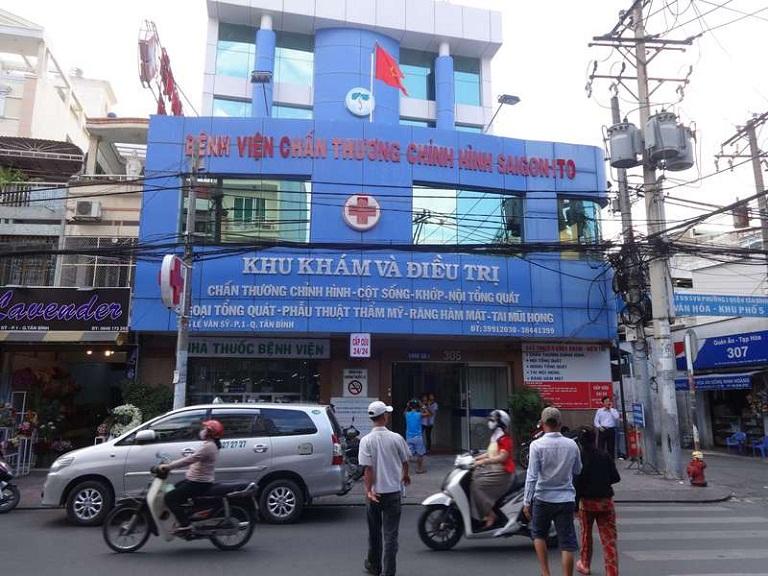 Bệnh viện Chấn thương chỉnh hình SaiGon - ITO Tân Bình