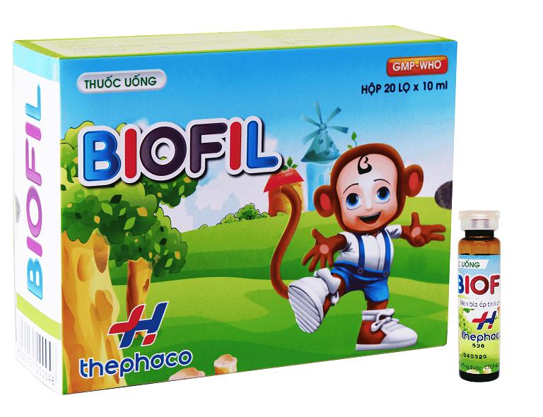 Thuốc bổ Biofil dạng ống uống