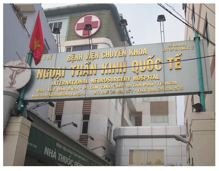 thông tin về bệnh viện Chuyên khoa Ngoại thần kinh Quốc tế