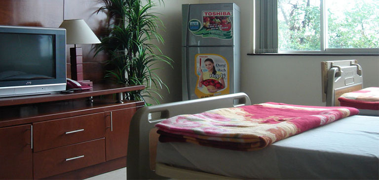 cơ sở vật chất ở bệnh viện Chuyên khoa Ngoại thần kinh Quốc tế